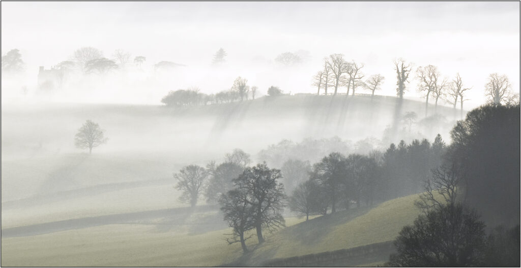 First Place -Mist in the valley-Brian Wetton