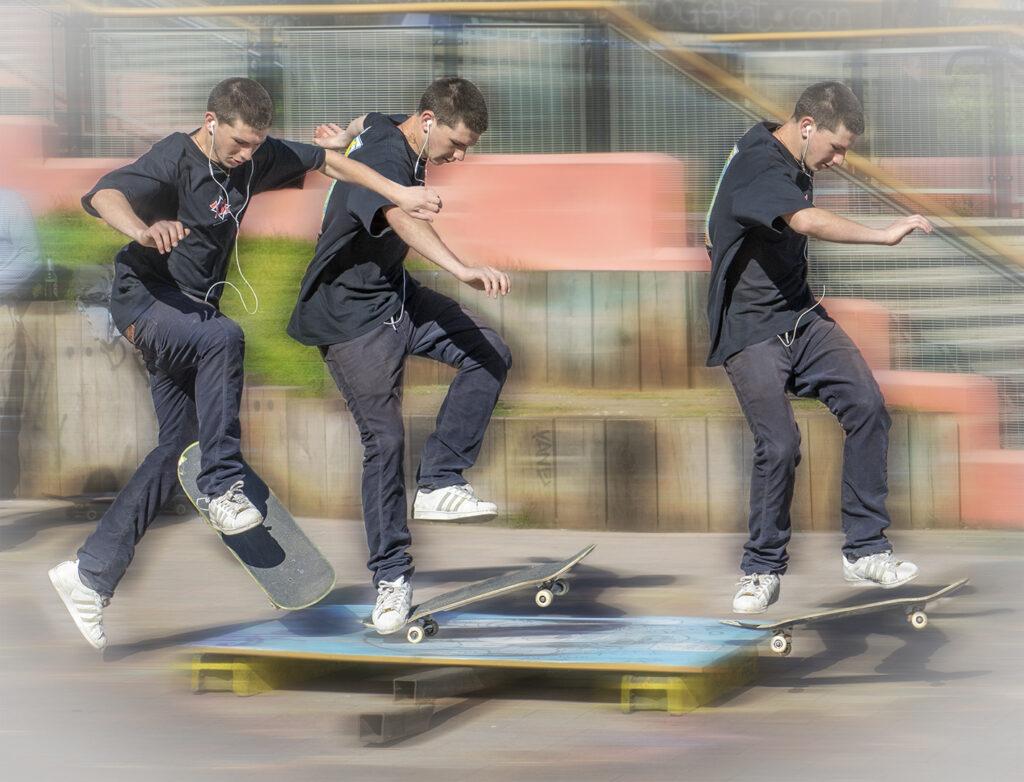 Div 1- 2nd- skater boy -Barry Wilson