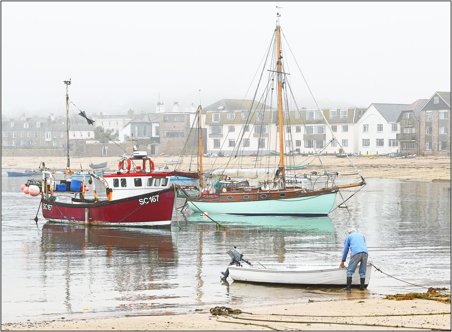 1st - 20 points - Misty Harbour Hugh Town- Brian Wetton
