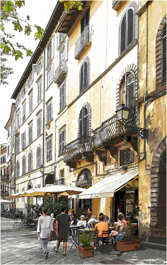 Lunch in Lucca-Brian Wetton