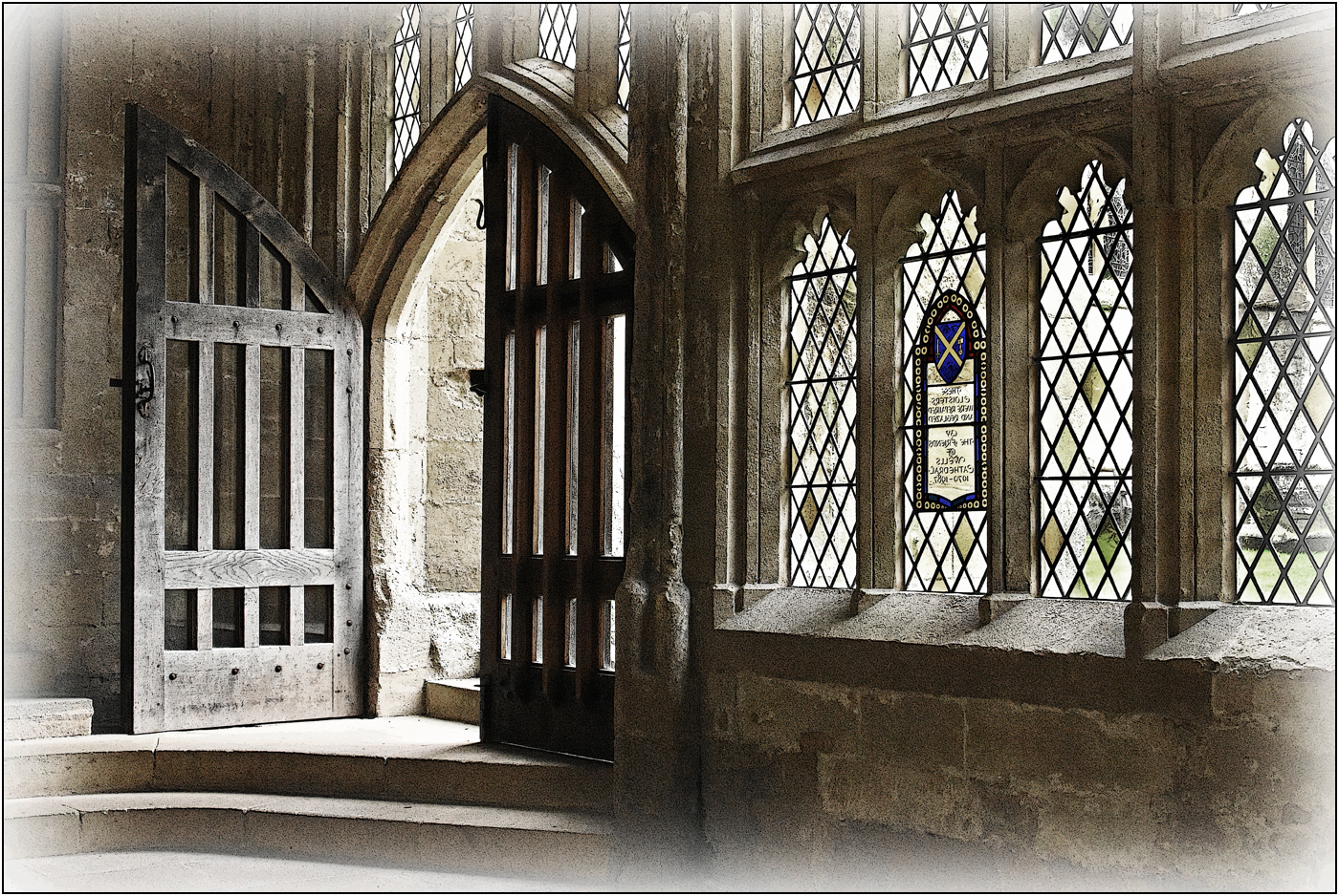 Div 1-3rd- 15 Points- In the Cloisters, Wells Cathedral - Brian Wetton