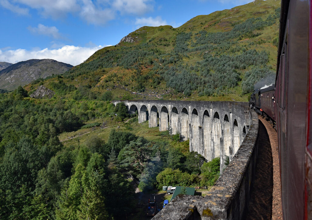 D1-3rd- 18 Points- Glenfinnan Steam Railway-David Arkwell