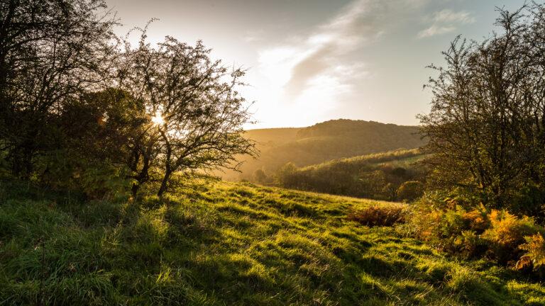 17 Points-Wye Valley Sunset -Don Grundell