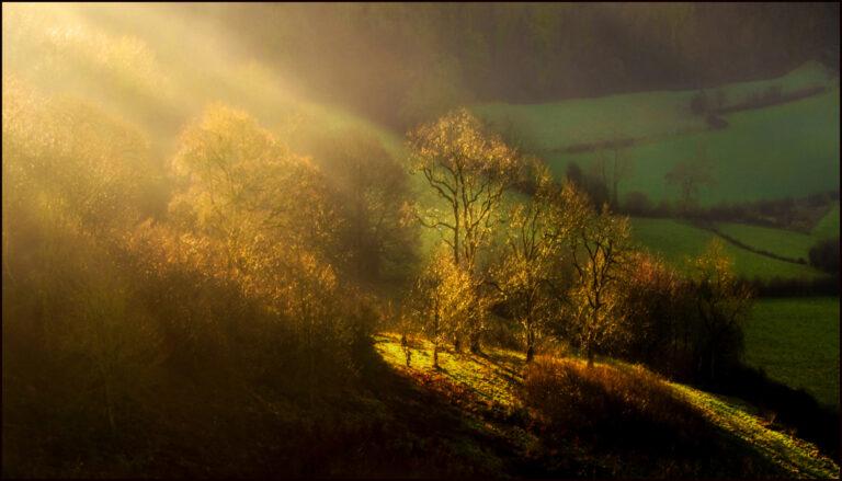 18 Points -Last rays of light Coaley peak -Jenny Fryer LRPS