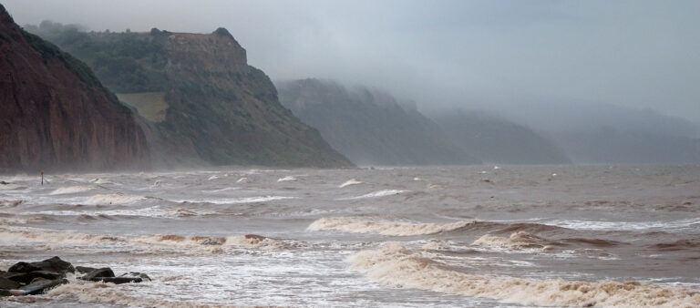 3rd-18 Points - Jurassic Coast in Winter-Malcolm Wootton